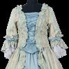 Blue Baroque Two Piece Dress