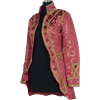 Womens Open Baroque Jacket - Red