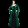 Elven Princess Dress - Green and Black