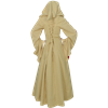 Woodland Peasant Dress - Cream and Red