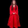 Red Priestess Dress