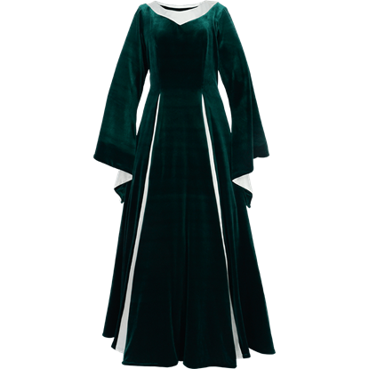 Royal Velvet Medieval Gown