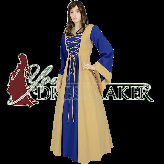 Ladies Medieval Dress