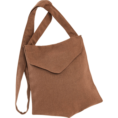 Sturdy Cotton Medieval Shoulder Bag