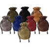 Soft Suede Drawstring Pouch