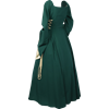 Side Laced Medieval Maiden Dress