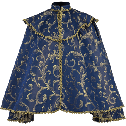 Nobles Brocade Short Cape