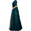 Ladies Velvet Renaissance Gown