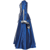 Renaissance Sorceress Dress - Royal Blue