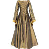 Renaissance Sorceress Dress - Bronze