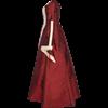 Renaissance Sorceress Dress - Burgundy