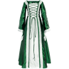Renaissance Sorceress Dress - Green