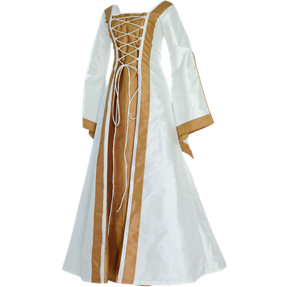 Renaissance Sorceress Dress - White
