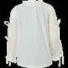 Juliet Tied Sleeve Cotton Blouse