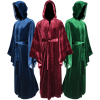 Hooded Velvet Robe