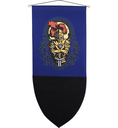 Chivalrous Knight Banner