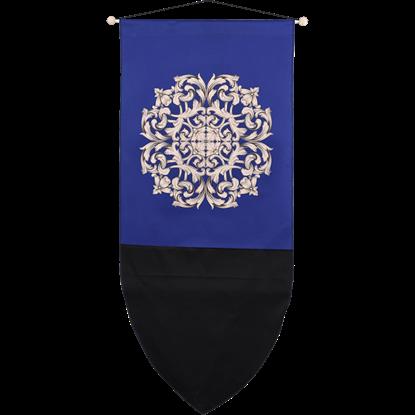Baroque Flourish Medieval Banner