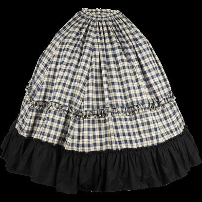 Plaid Civil War Skirt