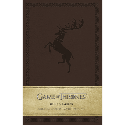 Game of Thrones House Baratheon Journal