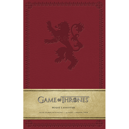 Game of Thrones House Lannister Journal