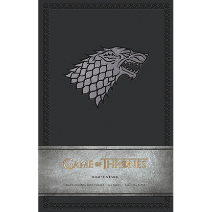 Game of Thrones House Stark Journal