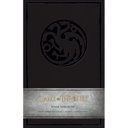 Game of Thrones House Targaryen Journal