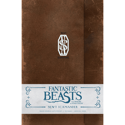 Fantastic Beasts Newt Scamander Journal
