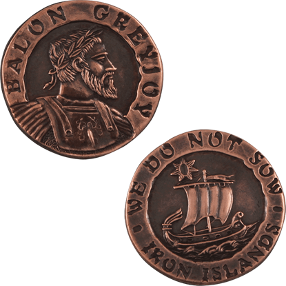 Balon Greyjoy Copper Star Coin