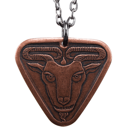 Black Goat of Qohor Necklace