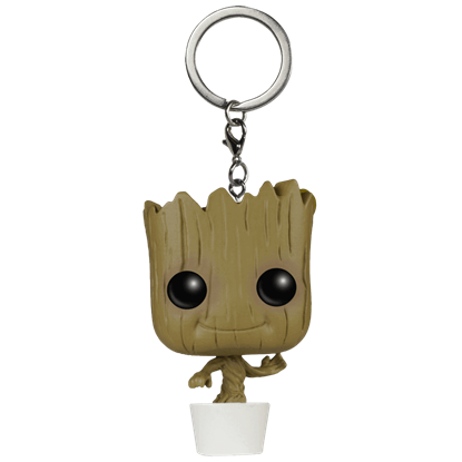 Baby Groot Pocket POP Bobblehead Keychain