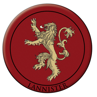 Game Of Thrones Lannister Embroidered Patch