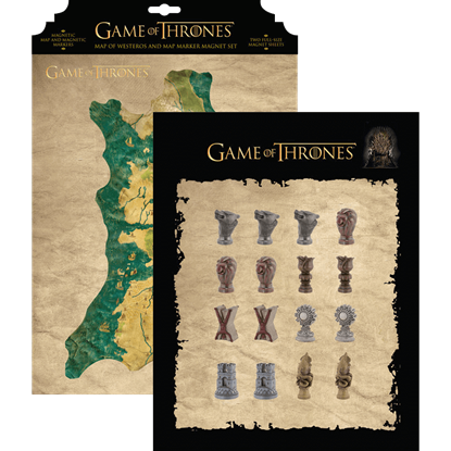 Map of Westeros and Magnet Set