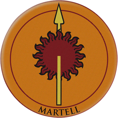 Game of Thrones House Martell Patch