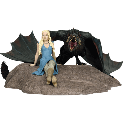 Daenerys and Drogon Limited Edition Statue