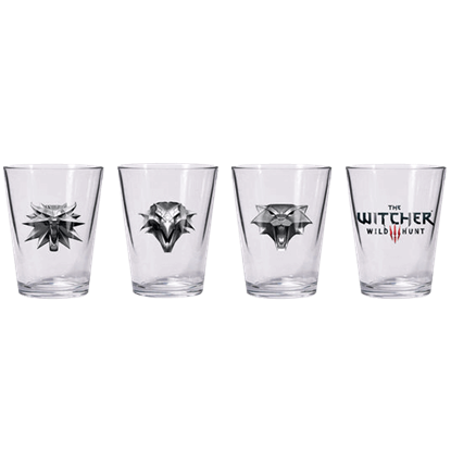 The Witcher 3 The Wild Hunt Shot Glass Set