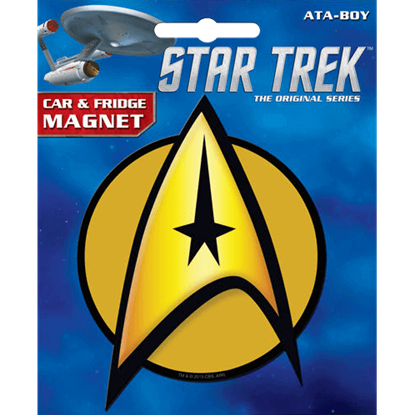 Star Trek Command Insignia Magnet