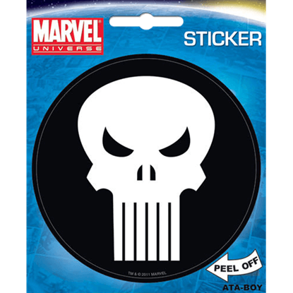 Punisher Emblem Sticker