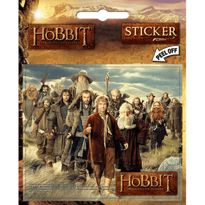 Hobbit Middle Earth Group Sticker