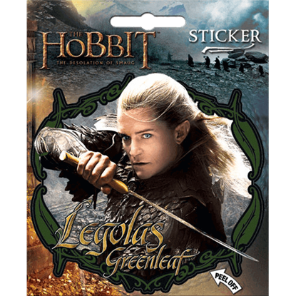 Legolas Greenleaf the Hobbit Series Sticker