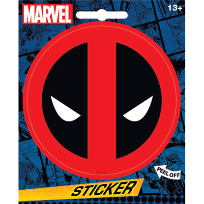 Deadpool Emblem Sticker