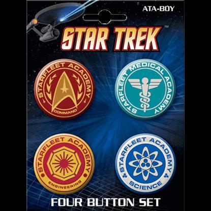Starfleet Academy Button Set