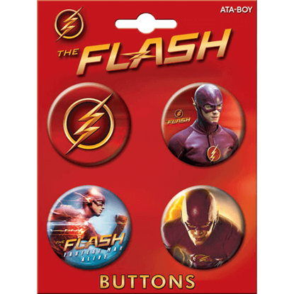 Flash TV Series Button Set