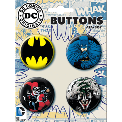 Batman vs. Villains Button Set