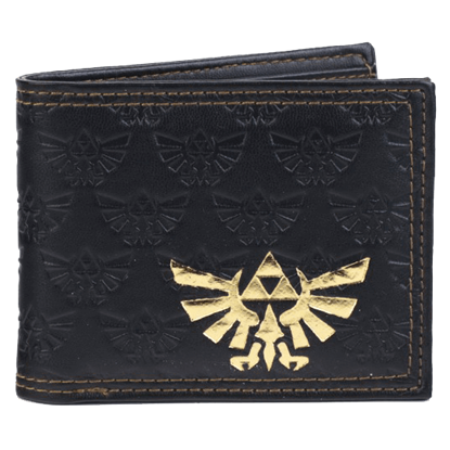 Embossed Legend of Zelda Bi-Fold Wallet