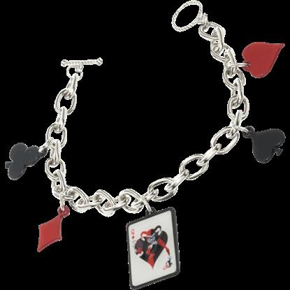 Harley Quinn Charm Bracelet