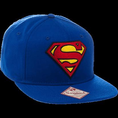 Classic Superman Logo Snapback Hat