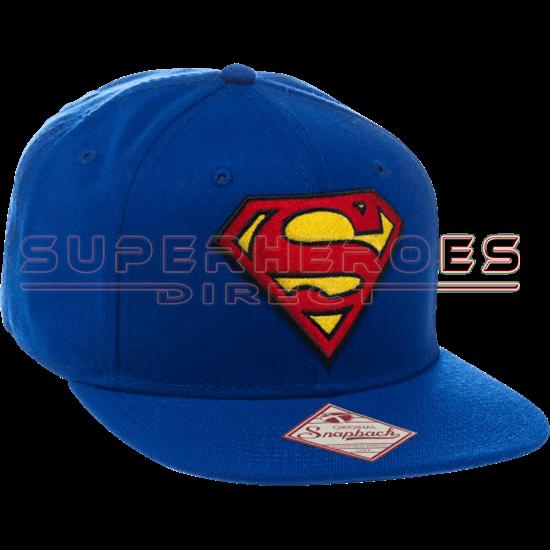 30545fce0 Classic Superman Logo Snapback Hat