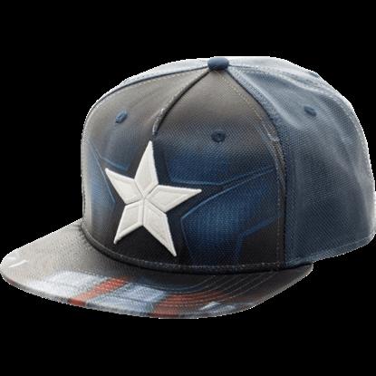 Captain America Civil War Sublimated Snapback Hat