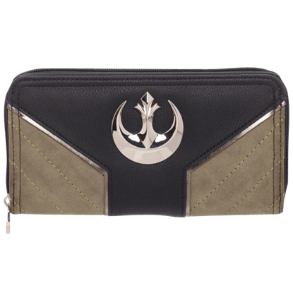 Rogue One Rebel Jyn Zip Around Wallet