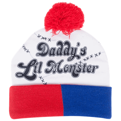 Suicide Squad Daddys Lil Monster Pom Beanie